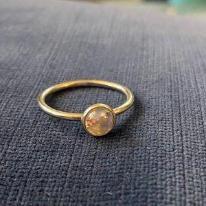 Pandora Ring - April Birthstone